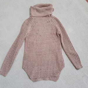 Knit Sweater with cowl neck S